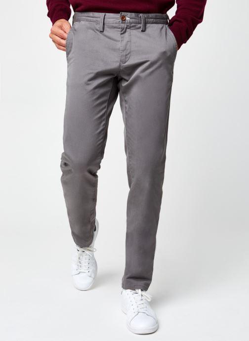 Vêtements GANT Slim Twill Chinos Gris vue détail/paire