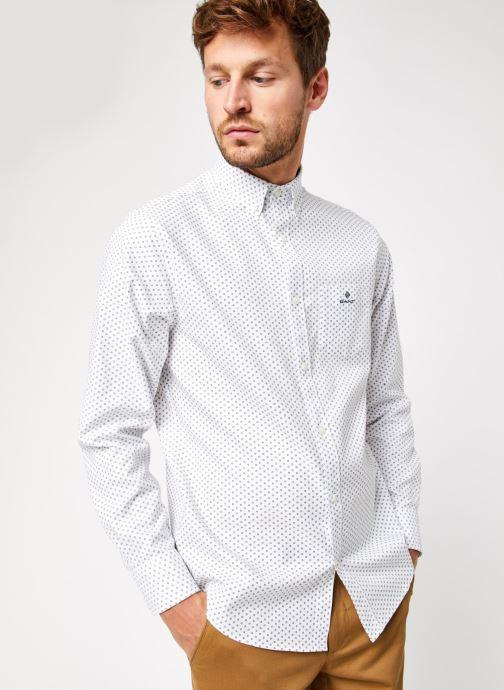 Vêtements GANT Printed Cherry Blossom Reg Bd Blanc vue droite