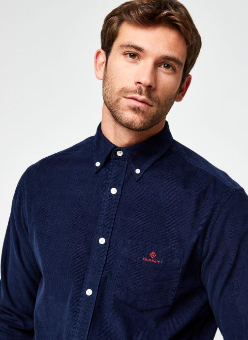 Vêtements GANT Corduroy Reg Bd Bleu vue face
