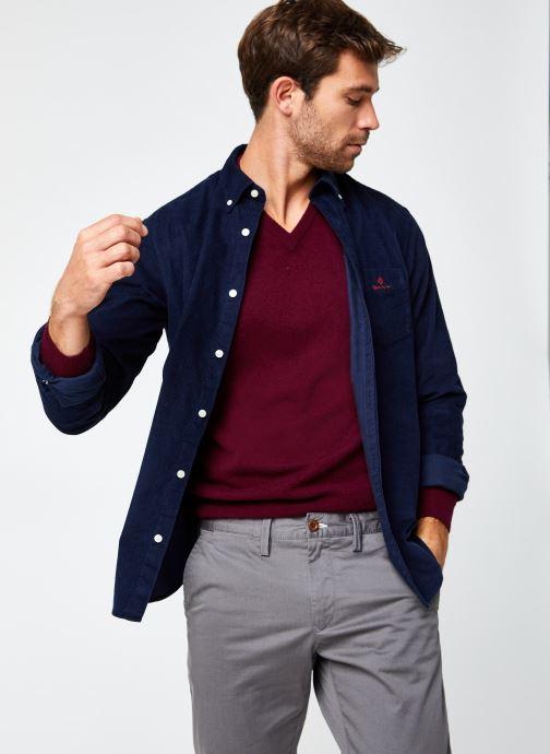 Vêtements GANT Corduroy Reg Bd Bleu vue détail/paire