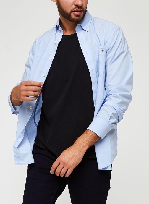 Vêtements GANT Reg Broadcloth Bd Bleu vue détail/paire