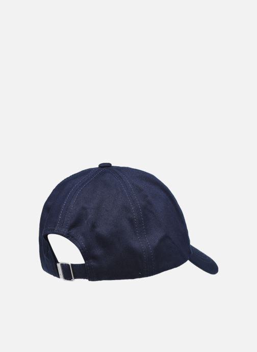 Vêtements GANT Cotton Twill Cap Bleu vue portées chaussures