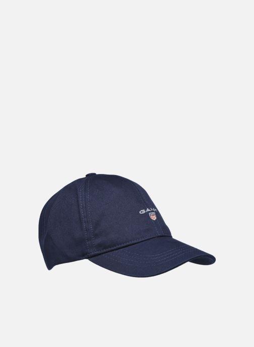 Vêtements GANT Cotton Twill Cap Bleu vue détail/paire