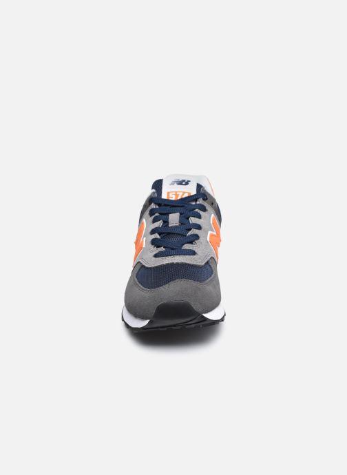 Sneaker New Balance ML574EAF grau schuhe getragen