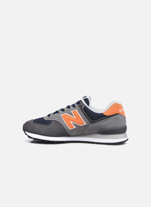 Sneaker New Balance ML574EAF grau ansicht von vorne