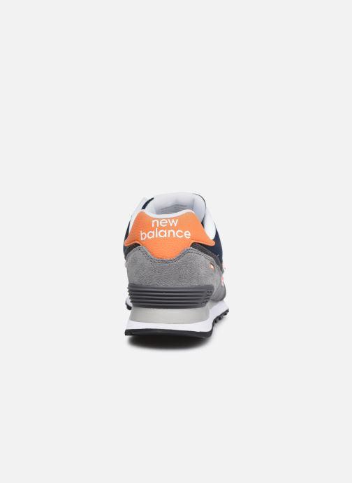 Sneaker New Balance ML574EAF grau ansicht von rechts