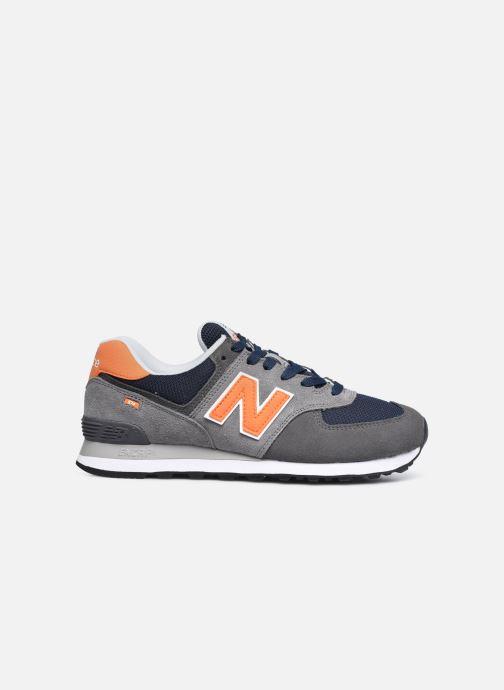 Sneaker New Balance ML574EAF grau ansicht von hinten