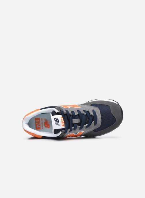Sneaker New Balance ML574EAF grau ansicht von links