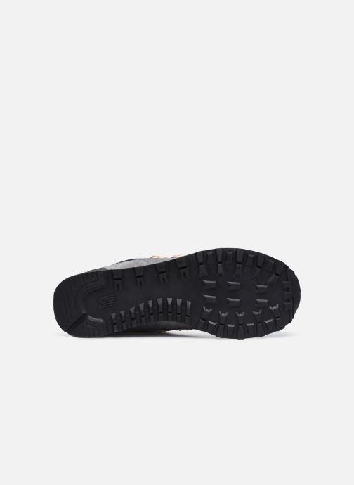 Sneaker New Balance ML574EAF grau ansicht von oben