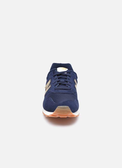 Baskets New Balance WL373 W Bleu vue portées chaussures