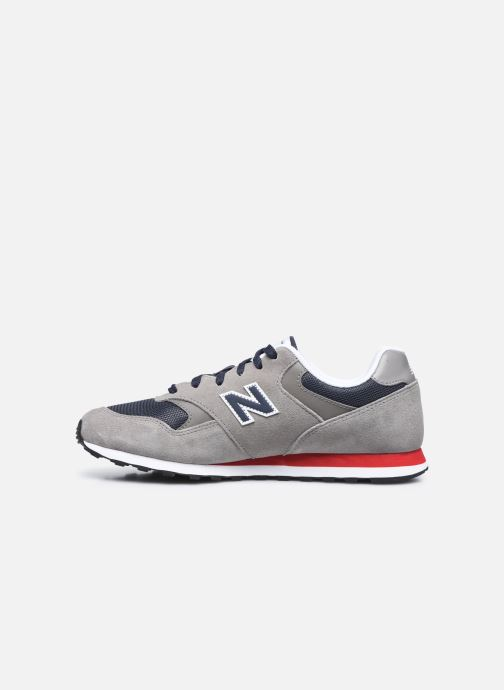 Sneakers New Balance ML393 Grigio immagine frontale
