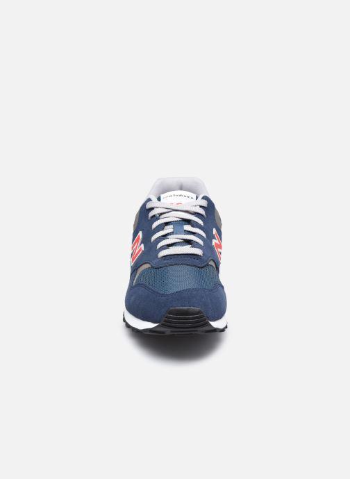 Baskets New Balance ML393 Bleu vue portées chaussures