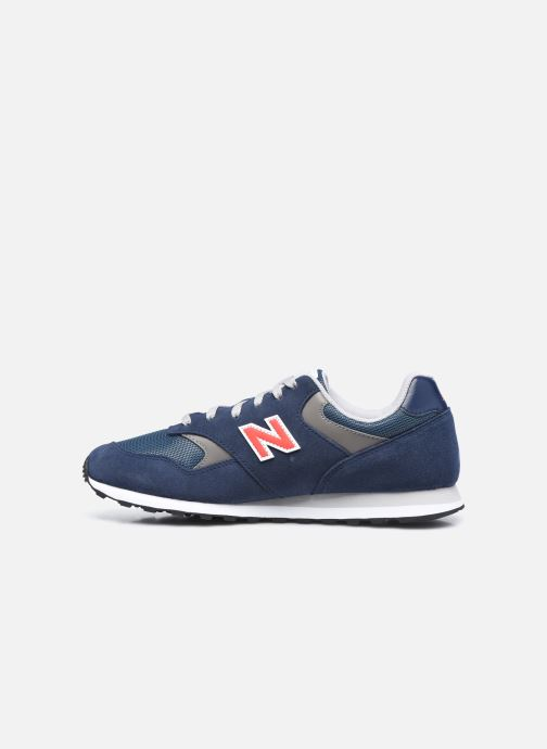 Sneaker New Balance ML393 blau ansicht von vorne