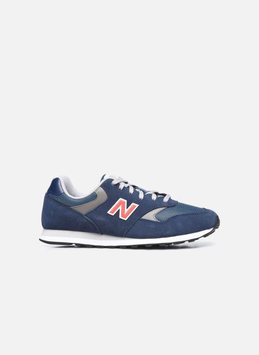 Sneaker New Balance ML393 blau ansicht von hinten