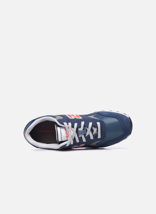 Sneaker New Balance ML393 blau ansicht von links