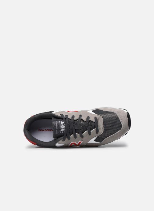Sneaker New Balance ML393 grau ansicht von links