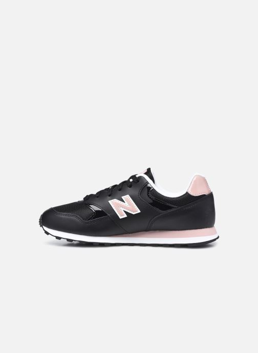 Baskets New Balance WL393 W Noir vue face