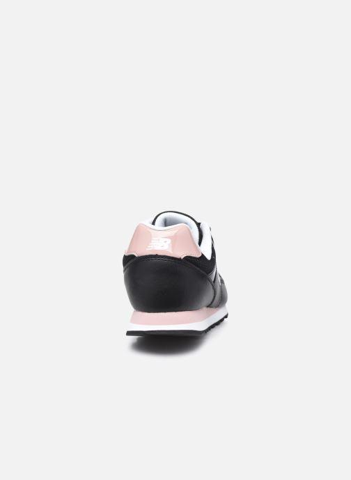 Sneaker New Balance WL393 W schwarz ansicht von rechts
