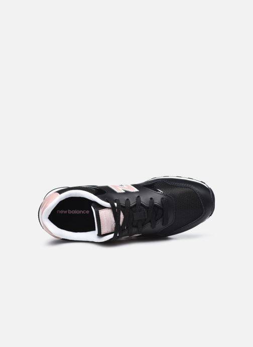 Sneaker New Balance WL393 W schwarz ansicht von links