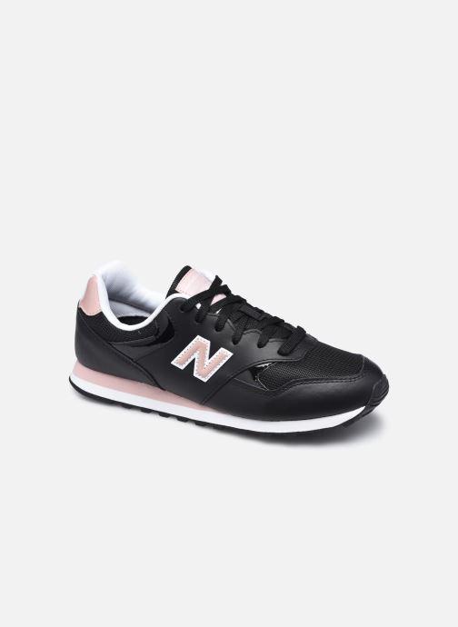 Sneaker New Balance WL393 W schwarz detaillierte ansicht/modell
