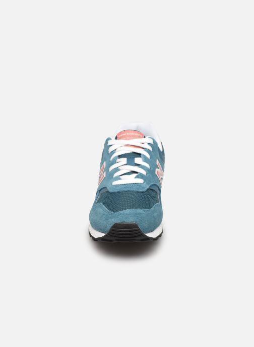 Baskets New Balance WL393 W Bleu vue portées chaussures