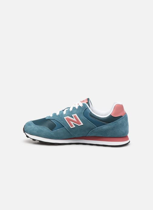 Baskets New Balance WL393 W Bleu vue face