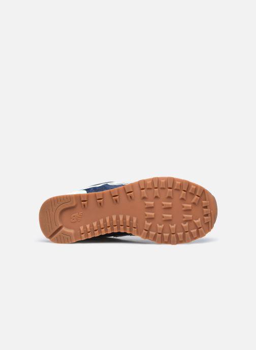 Sneaker New Balance WL574 W blau ansicht von oben