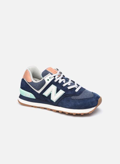 Sneaker New Balance WL574 W blau detaillierte ansicht/modell
