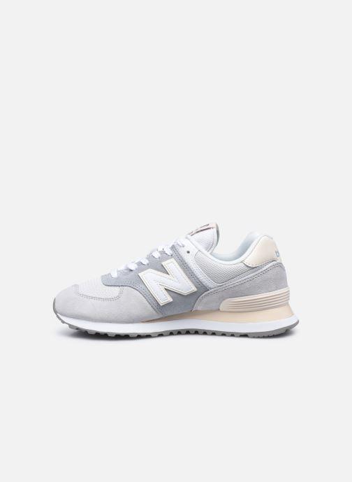 Sneaker New Balance WL574 W grau ansicht von vorne