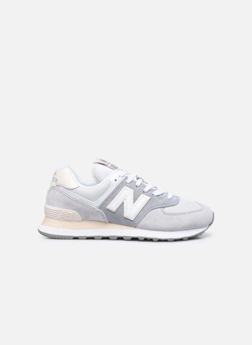 Sneaker New Balance WL574 W grau ansicht von hinten