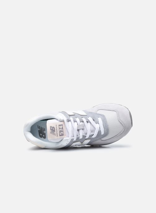 Sneaker New Balance WL574 W grau ansicht von links
