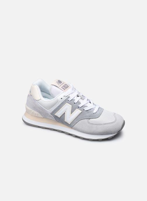 Sneaker New Balance WL574 W grau detaillierte ansicht/modell