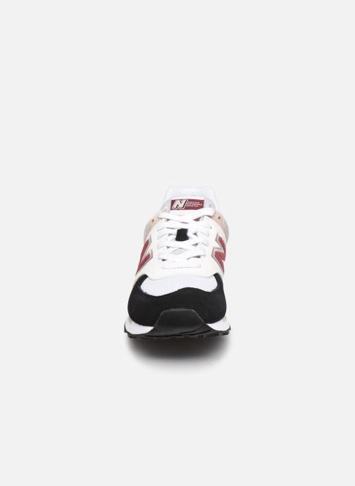 Baskets New Balance WL574 W Noir vue portées chaussures