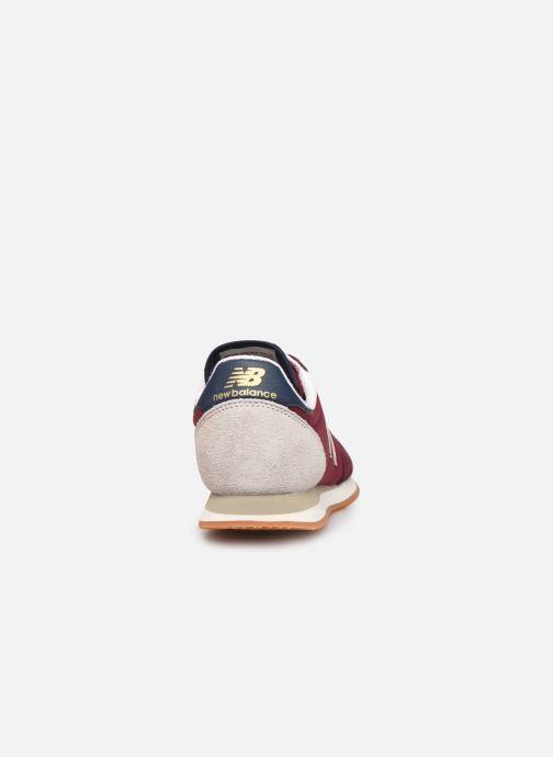 Sneaker New Balance WL720 W rot ansicht von rechts