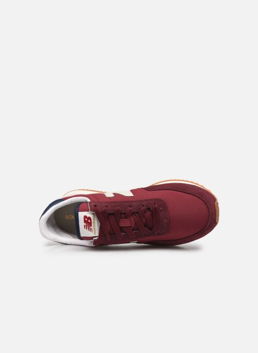 Sneaker New Balance WL720 W rot ansicht von links