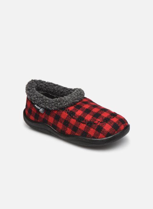 Pantofole Kamik Cozy Cabin 2 Rosso vedi dettaglio/paio