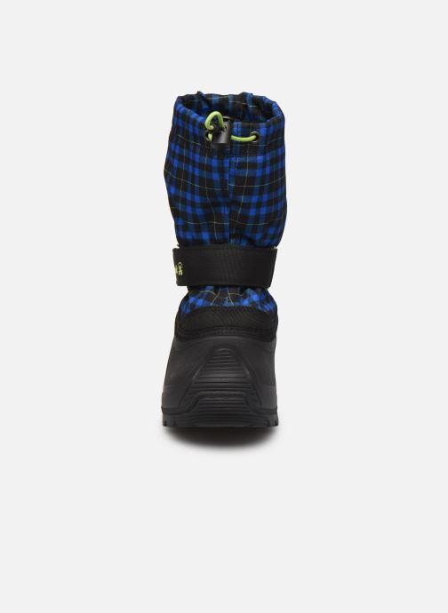 Chaussures de sport Kamik Finley Bleu vue portées chaussures