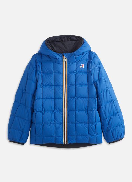 Vêtements K-Way  Jacques Thermo Plus.2 Double Kids Bleu vue portées chaussures