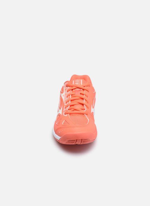 Scarpe sportive Mizuno Cyclone Speed 2 - W Arancione modello indossato