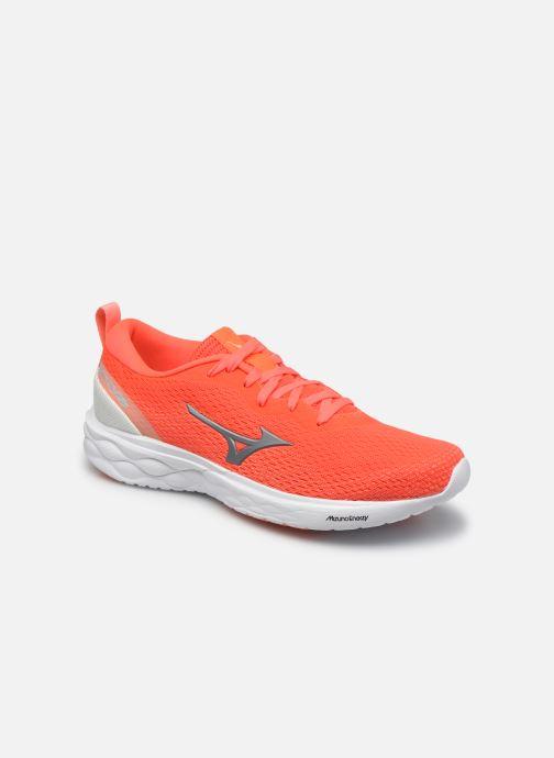 Chaussures de sport Mizuno Wave Revolt - W Orange vue détail/paire