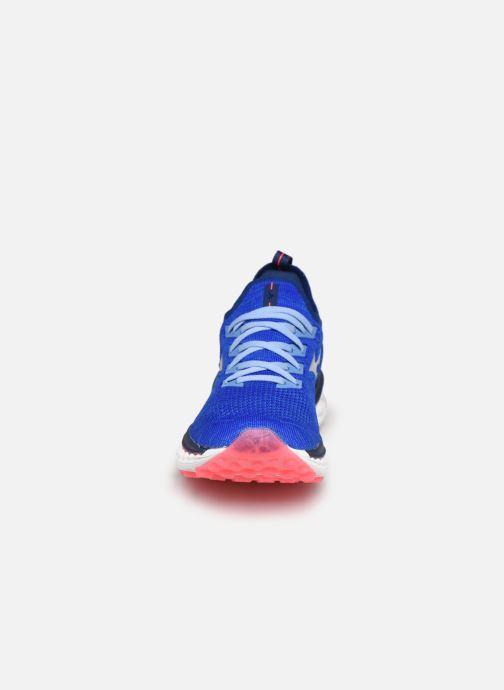 Sportschuhe Mizuno Wave Sky Neo - W blau schuhe getragen