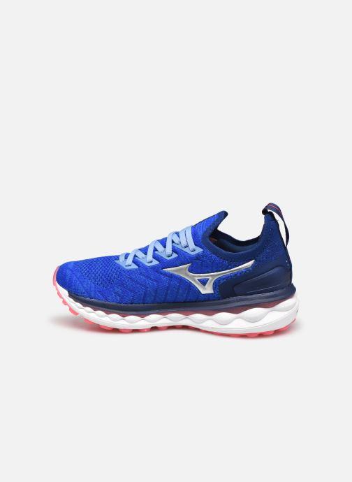 Zapatillas de deporte Mizuno Wave Sky Neo - W Azul vista de frente