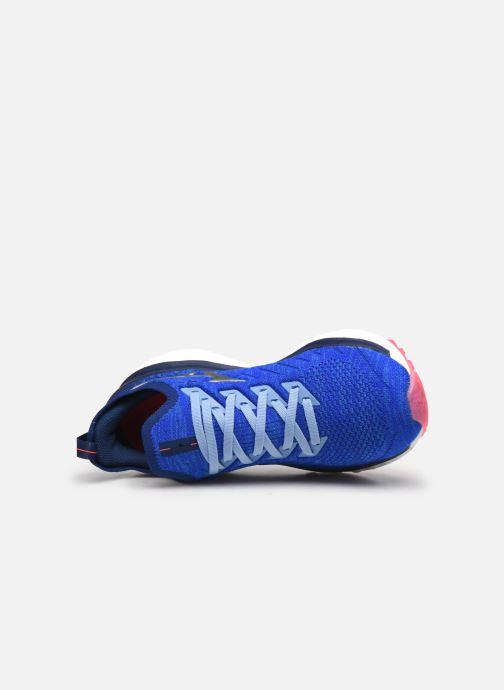 Zapatillas de deporte Mizuno Wave Sky Neo - W Azul vista lateral izquierda