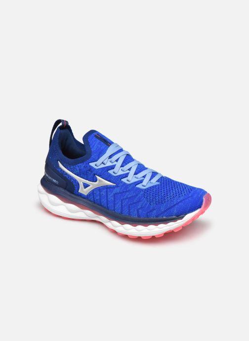 Zapatillas de deporte Mizuno Wave Sky Neo - W Azul vista de detalle / par