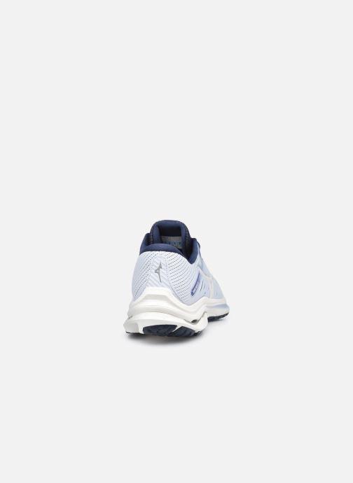 Chaussures de sport Mizuno Wave Rider 24 - W Bleu vue droite