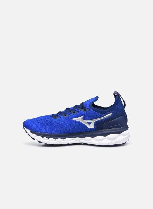 Zapatillas de deporte Mizuno Wave Sky Neo - M Azul vista de frente