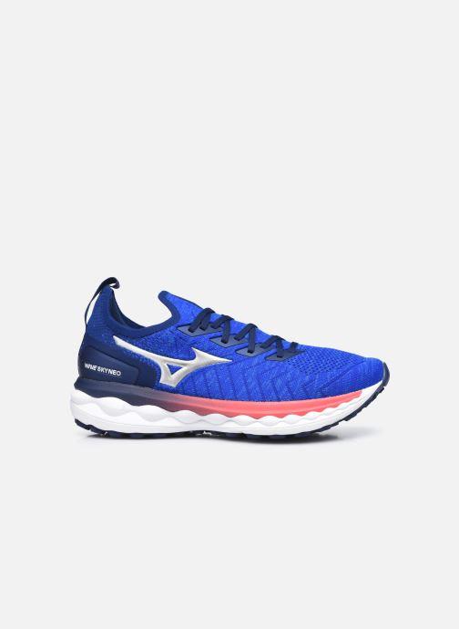 Scarpe sportive Mizuno Wave Sky Neo - M Azzurro immagine posteriore