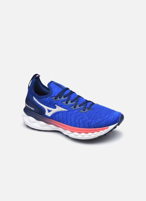 Zapatillas de deporte Mizuno Wave Sky Neo - M Azul vista de detalle / par