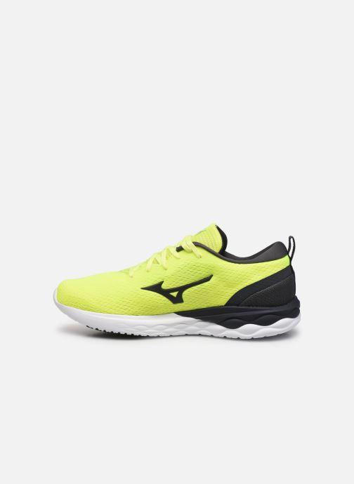 Zapatillas de deporte Mizuno Wave Revolt - M Amarillo vista de frente