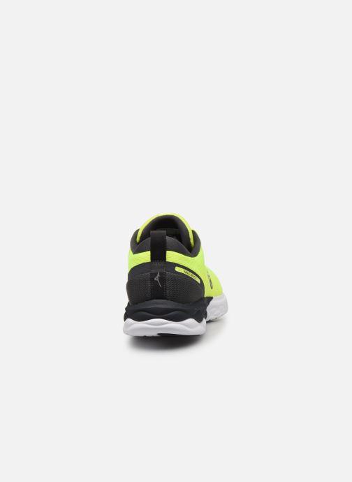 Zapatillas de deporte Mizuno Wave Revolt - M Amarillo vista lateral derecha
